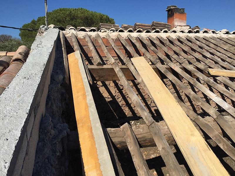 R novation de toiture le muy itb innovation toit et for Rehausser toiture