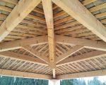 Charpente en bois dans le Var
