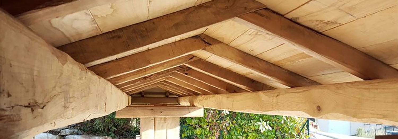 inovation toit et bois