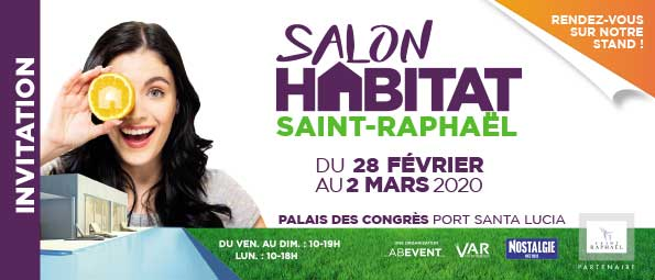 Salon de l'habitat 2020 à Saint-Raphael